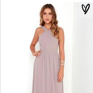 Lulus Air of Romance Maxi Dress